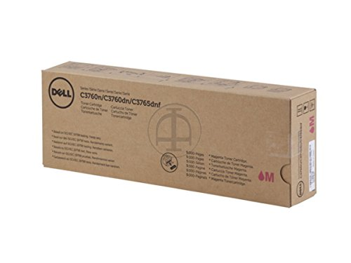 Dell C 3760 n (40W00 / 593-11121) - original - Toner magenta - 9.000 Pages