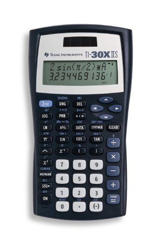Portable & Gadgets Texas Instruments TI-30X IIS 2-Line Scientific Calculator, Black Color: Black