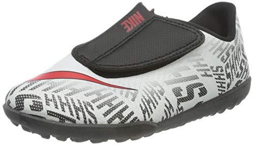 Nike Jr Vapor 12 Club PS (V) NJR TF, Botas de fútbol Unisex niños, Blanco (White/Challenge Red-Black 170), 30 EU