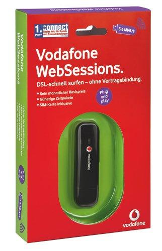 Vodafone K3565 Websessions USB-Stick, schwarz