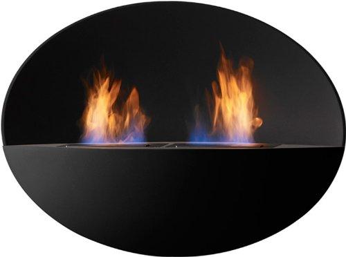 Safretti Ethanolkamin Prometheus OB schwarz zweiflammig