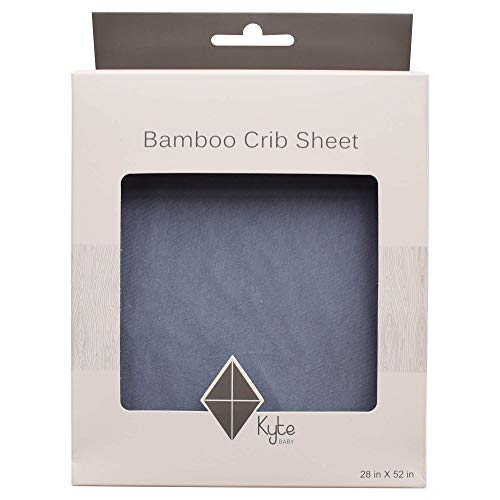 KYTE BABY Soft Crib Sheets Made from Bamboo Rayon Material...