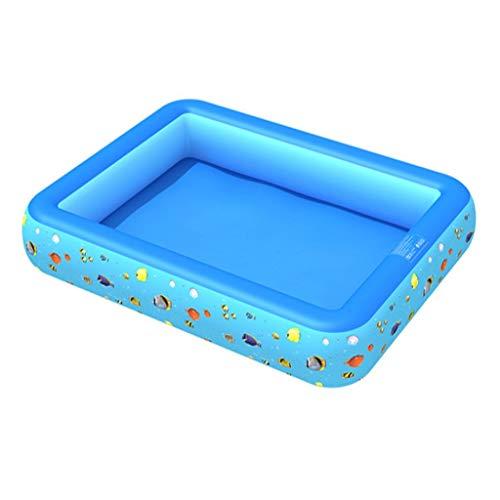 Bibokaoke - Piscina hinchable de verano para niños, para bebés, niños pequeños, para adultos, para jardín y exteriores