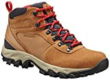 Columbia Men's Newton Ridge Plus II Suede Waterproof Boot Hiking, elk, mountain red, 10.5...