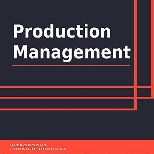Production Management audiobook cover art