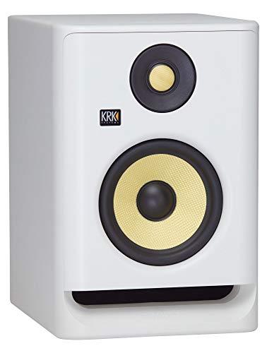 KRK RP5G4 White Monitor Amplificado