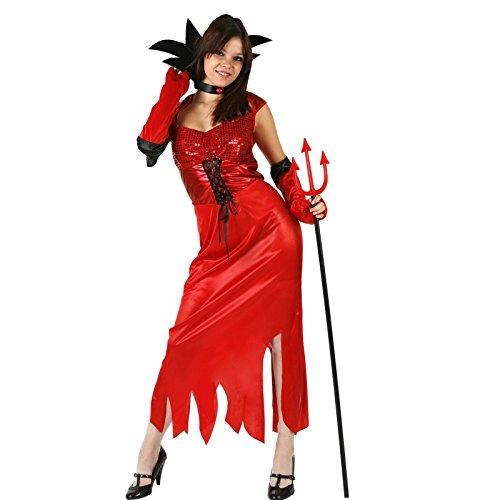 Atosa - Disfraz de diablo para mujer, talla M (8422259966227)