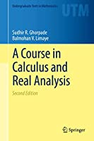 A Course in Calculus and Real Analysis (Undergraduate Texts in Mathematics)