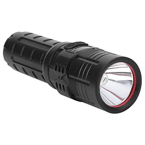 Linterna LED, XHP70 Linterna LED recargable, Linterna inteligente recargable por USB, Linterna de luz fuerte con pantalla de energía, Linterna de camping impermeable y con zoom, para acampar y deporte