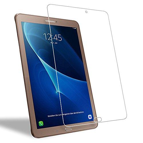 WEOFUN 2 Pack Screen Protector Samsung Galaxy Tab E 9.6 T560 T561, Tempered Glass for Samsung Galaxy Tab E 9.6 Tablet SM-T560 T561 Glass Film [0.33mm, 9H, Bubble-Free, Scratch Resist]