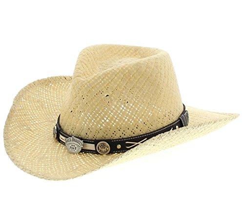 FB Fashion Boots - Sombrero Cowboy - para Hombre Negro Natural