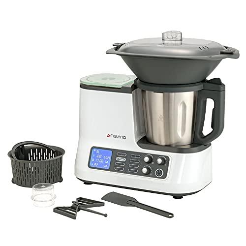Küchenmaschine mit Kochfunktion, Waage,...