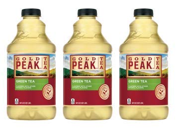 Gold Peak Green Iced Tea Drink, 64 fl oz (Pack of 3)
