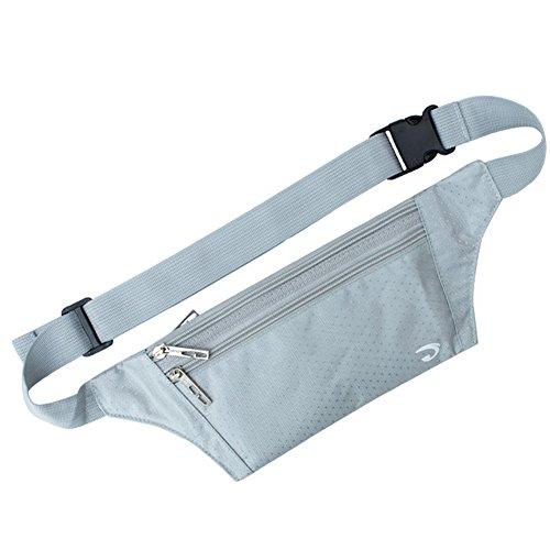Extérieur Taille Pack, parfait pour hommes et femmes, Gris argenté/CL (21 * * * * * * * * 12 * * * * * * * * 0.3 cm)