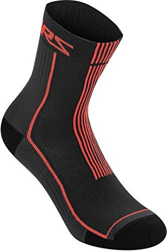 Alpinestars Summer 15 Socken Schwarz/Rot L