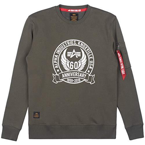 Alpha Industries Anniversary Sweater Dark Olive