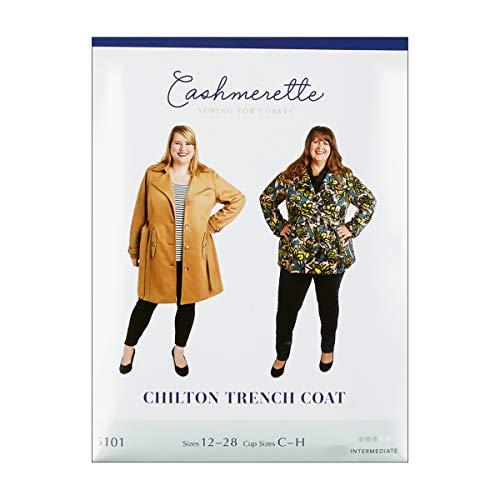 Cashmerette Patterns Chilton Trench Coat Pattern Multi