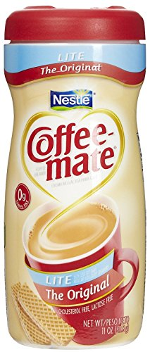 Coffee-Mate Original Lite Powdered Creamer, 11 oz Canister