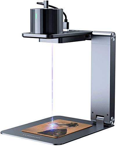 LaserPecker Pro de grabado láser portátil, máquina grabadora láser compacta con gafas protectoras, impresora láser cortador para bricolaje, arte artesanal