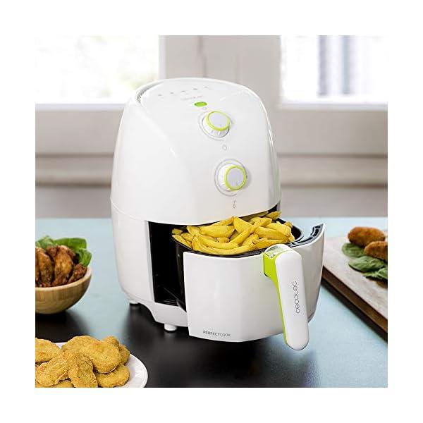 Cecotec-Freidora-diettica-Cecofry-Compact-Rapid-WhiteCapacidad-para-400-gr-de-patatas-temperatura-200C-tiempo-ajustable-0-30-min-incluye-recetario