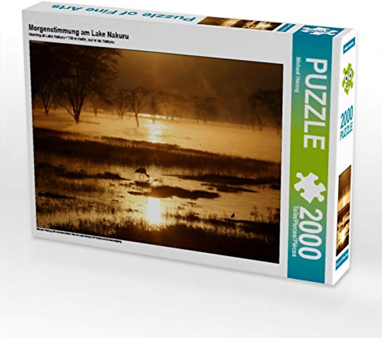 CALVENDO Puzzle Morgenstimmung am Lake Nakuru 2000 Teile Lege-Größe 90 x 67 cm Foto-Puzzle Bild von Michael Herzog B07JR59X9P Sonderaktionen zum Jahresende | Ermäßigung