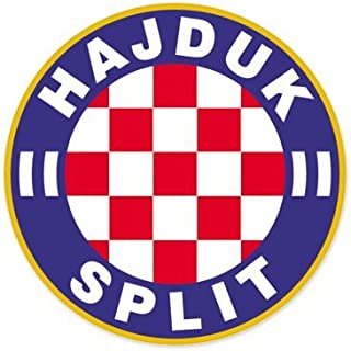 HNK Hajduk Split - Croatia Football Soccer Futbol - Car Sticker - 4
