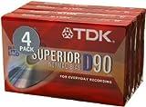 4PK 90MIN Cassette