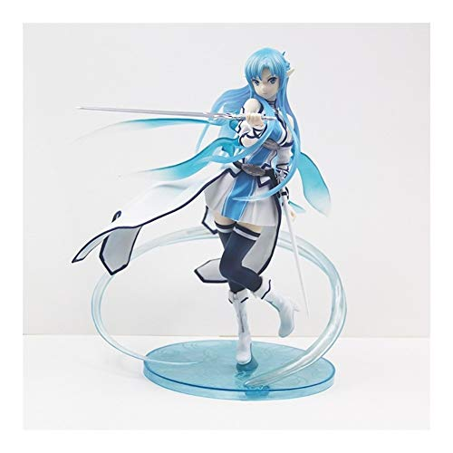 Asuna Water Spirit Anime Model Hand-Made Crafts, Can be Used for Office/Home Decoration and Creative Birthday Gifts Z-2020-7-20 image