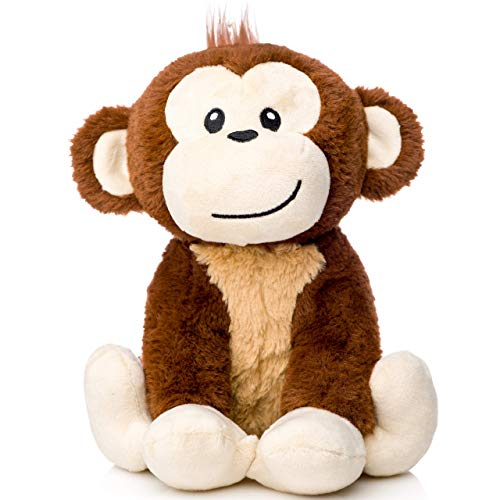 earthMonkeys Monkey Stuffed Animal | Cutest Stuffed Monkey Plush for Kids | Great Gift for Any Registry or Baby Shower!