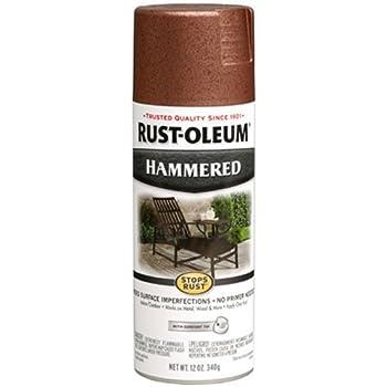 Rust-Oleum, Copper, 210849 Hammered Metal Finish Spray, 12-Ounce, Fl Oz