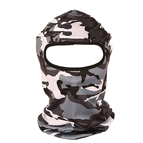 ECYC 3D Chasse Camouflage Camo Couvre-Chef Balaclava Masque Visage Complet pour Wargame Paintball Chasse Pêche Vélo Moto