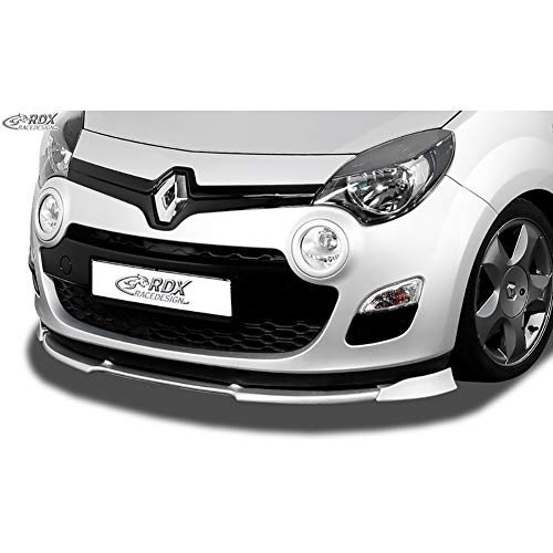 RDX Frontspoiler VARIO-X Twingo 2 Phase 2 2012-2014 Frontlippe Front Ansatz Vorne Spoilerlippe
