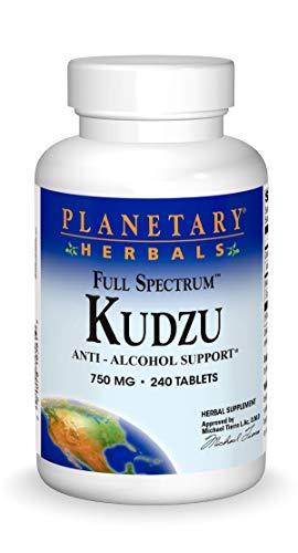 Planetary Herbals Kudzu 750mg Full Spectrum - 240 Tablets