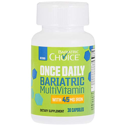 Bariatric Choice Once Daily Bariatric MultiVitamin with 45mg Iron