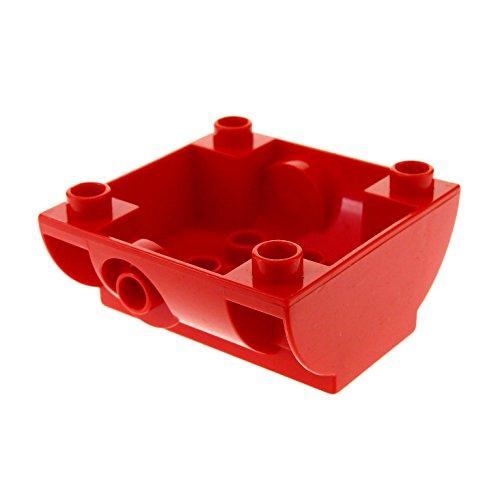 1 x Lego Duplo Aufsatz rot Container Unterteil Tank Wagen Auto Feuerwehr Tankwagen für Set 5605 6168 5609 59559