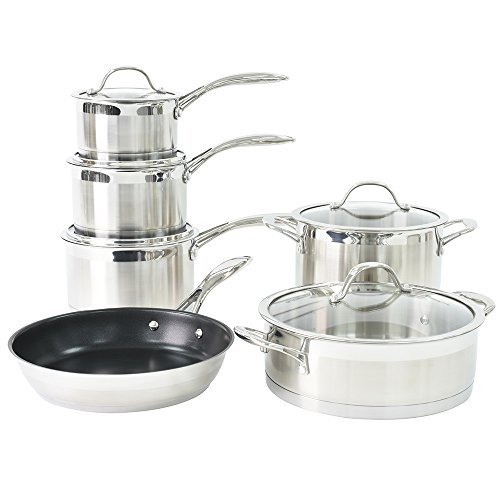 ProCook Professional Steel Induction Cookware Set