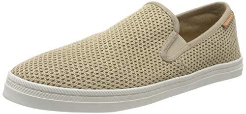 GANT Footwear Herren POOLRIDE Slipper, Beige (Dark Khaki G72), 44 EU