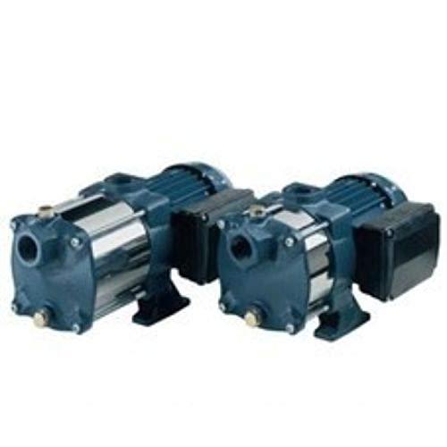 Druckgruppe, sehr leise, Modell Compact AM/10G, einphasig 230V, Zylinderbehälter horizontal 20 Liter, Stahlblech mit Deckeln, 0,55 kW 0,75 PS, grau (623GP05106520)