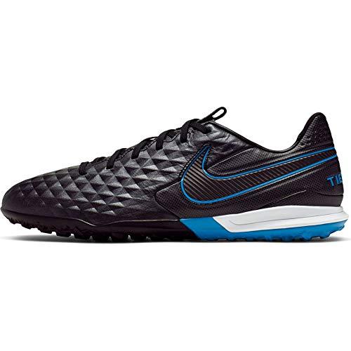 Nike Legend 8 PRO TF, Football Shoe Uomo, Black/Black-Blue Hero, 40 EU