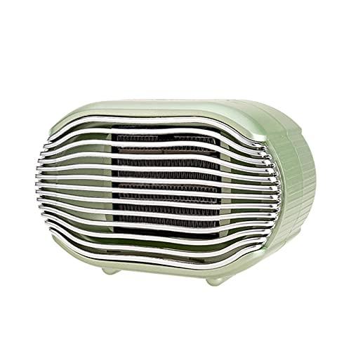 Calentador de espacio de cerámica, calentador eléctrico portátil para uso en el hogar y la oficina en interiores Calentador pequeño en el escritorio Seguro y silencioso para uso en interiores 1