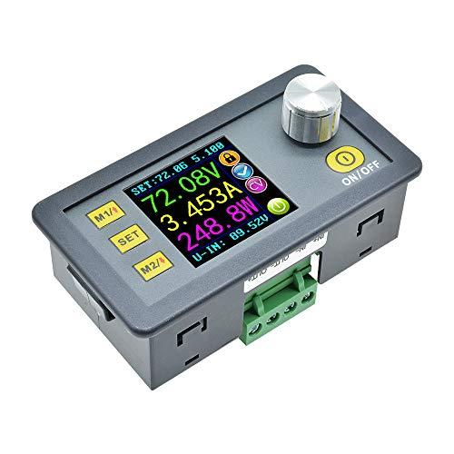 diymore Módulo de alimentación DP50V5A DC 50V 5A LCD Digital Programable Voltaje Constante Corriente Reducción de Corriente