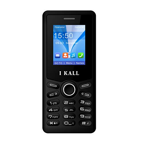 I Kall K23 8 Inch Display Dual Sim Feature Phone with 1 Yea