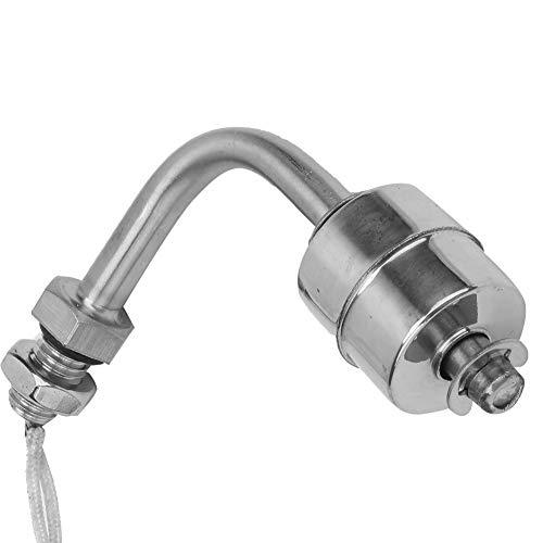 Esenlong Interruptor de Flotador de Sensor de Nivel de Agua Líquida de Acero Inoxidable para La Lata de Piscina 75Mm de Plata