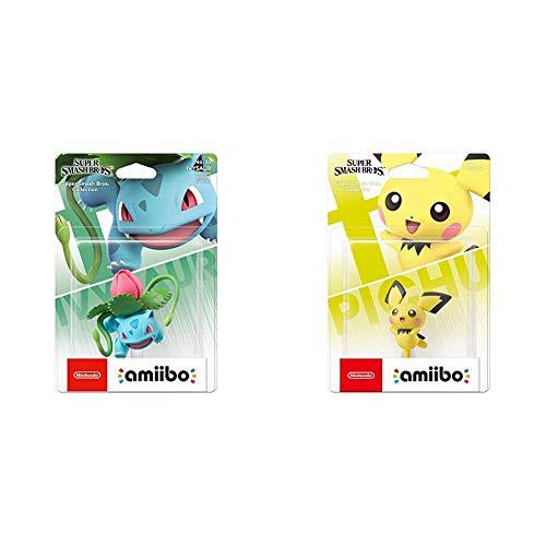 Nintendo Super Smash Bros Amiibo - Pichu + Amiibo - Ivysaur [Colección Super Smash Bros]