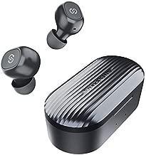SoundPEATS True Wireless Earbuds 5.0 Bluetooth Headphones in-Ear Stereo Wireless Earphones with Mic, One-Step Pairing, Total 35 Hours, Binaural/Monaural Calls, TrueFree Plus