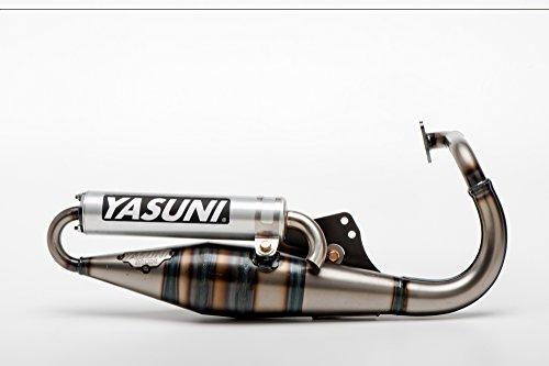 Marmitta Yasuni Scooter Z in alluminio per Peugeot