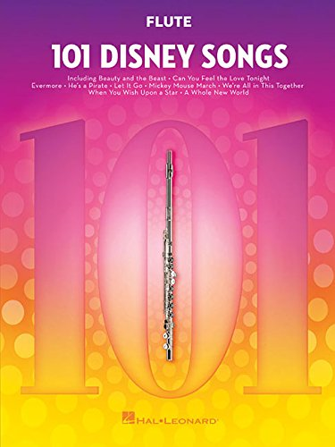 101 Disney Songs -For Flute-: Noten, Sammelband für Flöte