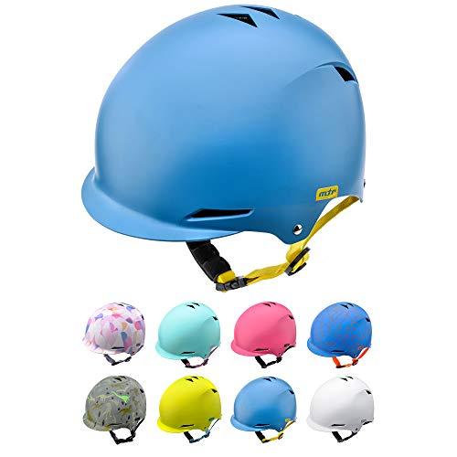 Casco Bicicleta Bebe Helmet Bici Ciclismo para Niño - Cascos para Infantil Bici Helmet para Patinete Ciclismo Montaña BMX Carretera Skate Patines monopatines (S 48-52 cm, Navy)
