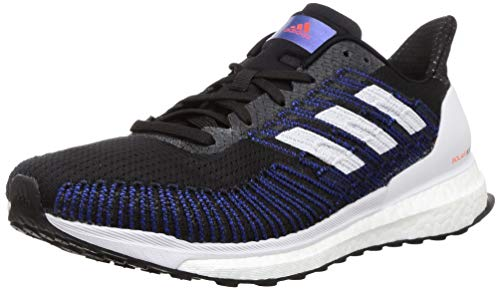 Adidas Boost ST 19 M, Zapatillas Running Hombre, Negro (Core Black/Dash Grey/Solar Red), 40 2/3 EU