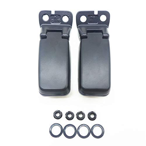 TIKSCIENCE Rear Window Hinge Liftgate Glass Hinge Kit, for 2004-2015 Nissan Armada,for 2005-2011 Infinity QX56,Left and Right Repair Hinges Replace 90321-7S000-1Pair